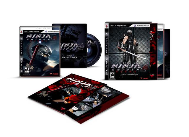 ninja gaiden sigma II edición limitada