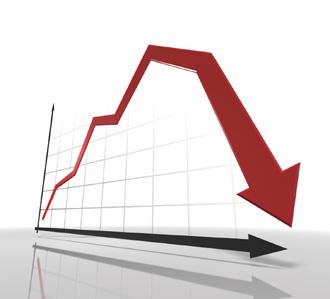 descenso ventas