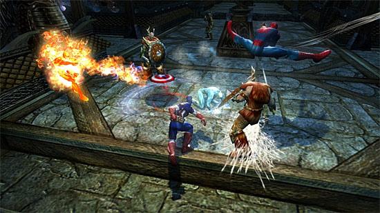 Ver algunas imágenes de marvel ultimate alliance 2 pulsa aquí