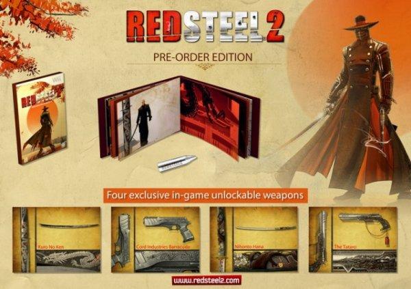 Edición coleccionista Red steel 2