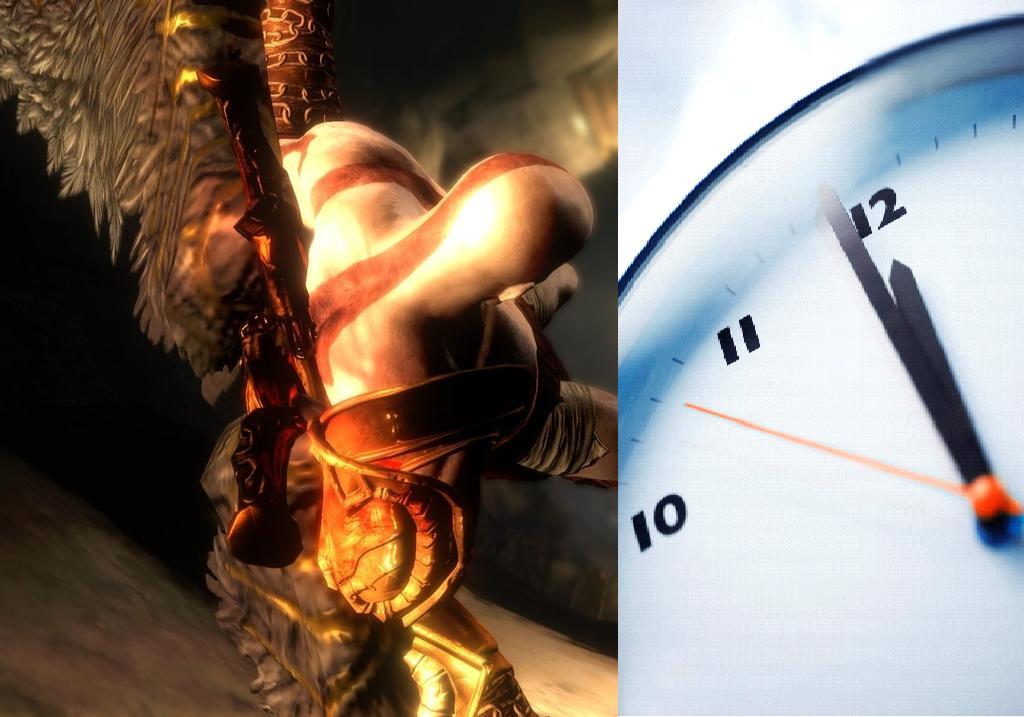 god of war III tiempo