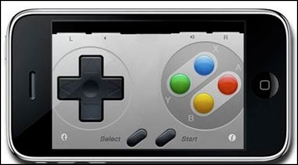 snes control iphone