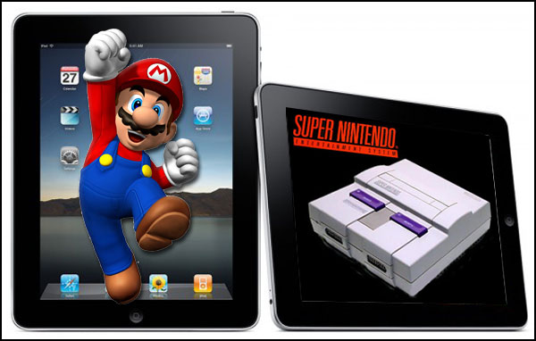 snes hd ipad e iphone