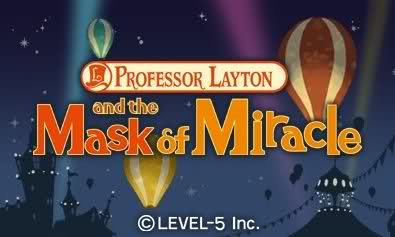 profesor layton and the Mask of Miracle