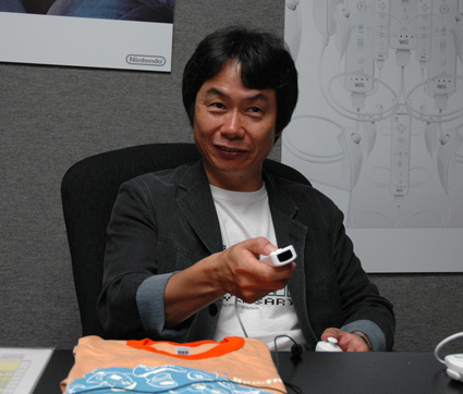 MIyamoto Wii