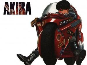 Una escena de la película Akira