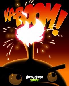 Angry Birds Space Ka-Boom