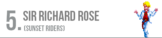 Puesto 6. Sir Richard Rose