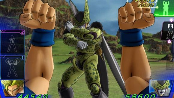 Dragon Ball Z for Kinect Gameplay
