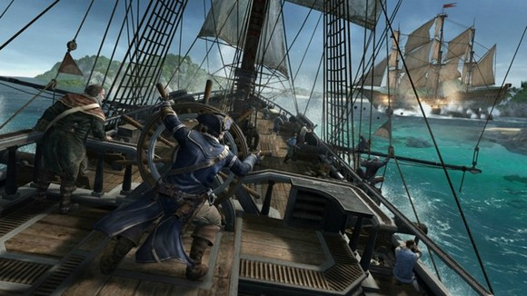assassins creed 3 batalla naval