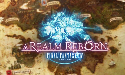 El logo de Final Fantasy XIV: A Realm Reborn