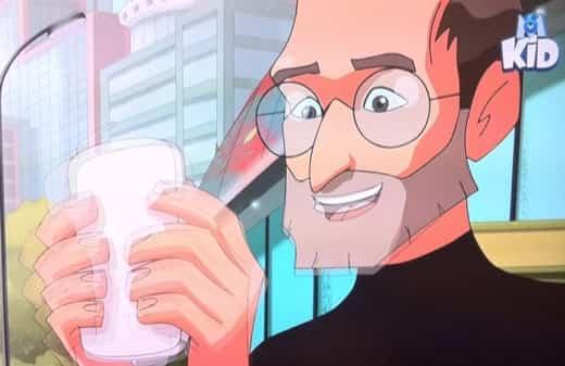 steve jobs anime