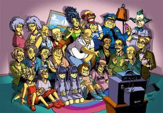 Simpsons anime
