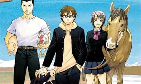 Silver Spoon anime(1)
