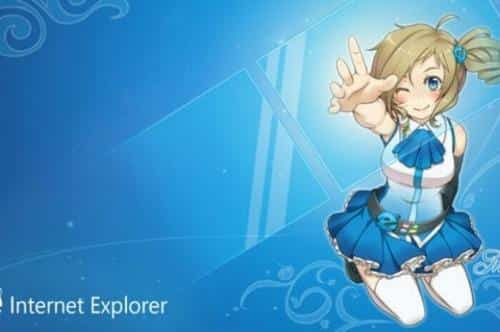 Internet Explorer anime