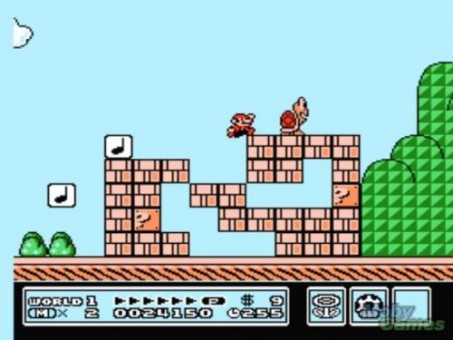 Super Mario Bros 3 NES 2 (500x200)