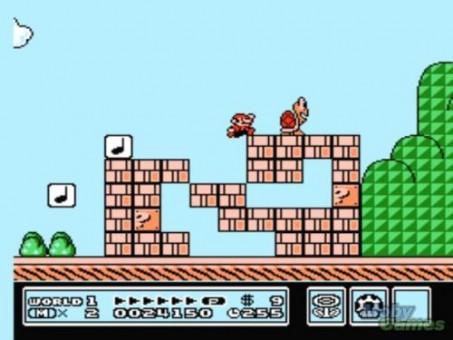 Super Mario Bros 3 NES 2 (500x200)