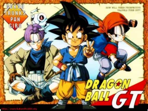 Dragon Ball GT comic anime