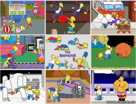 Los Simpson MAME 1