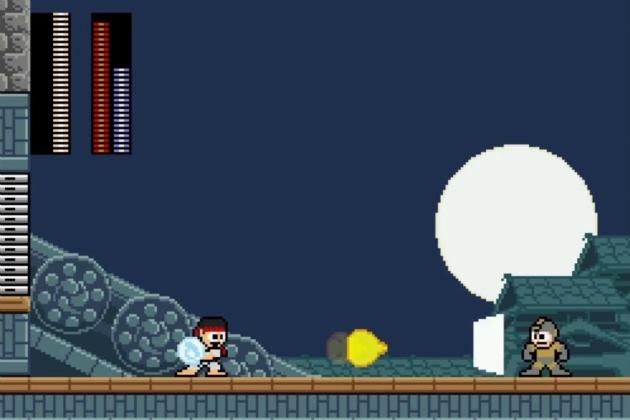 Street Fighter x Megaman 2