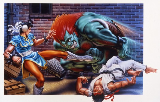 Mick McGinty Street Fighter 1