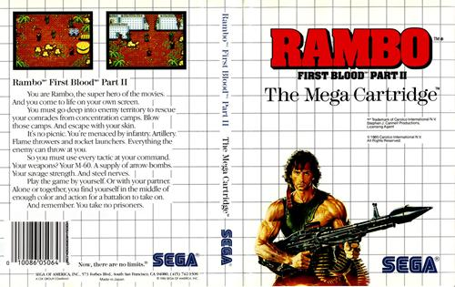 Rambo First Blood Part II 1