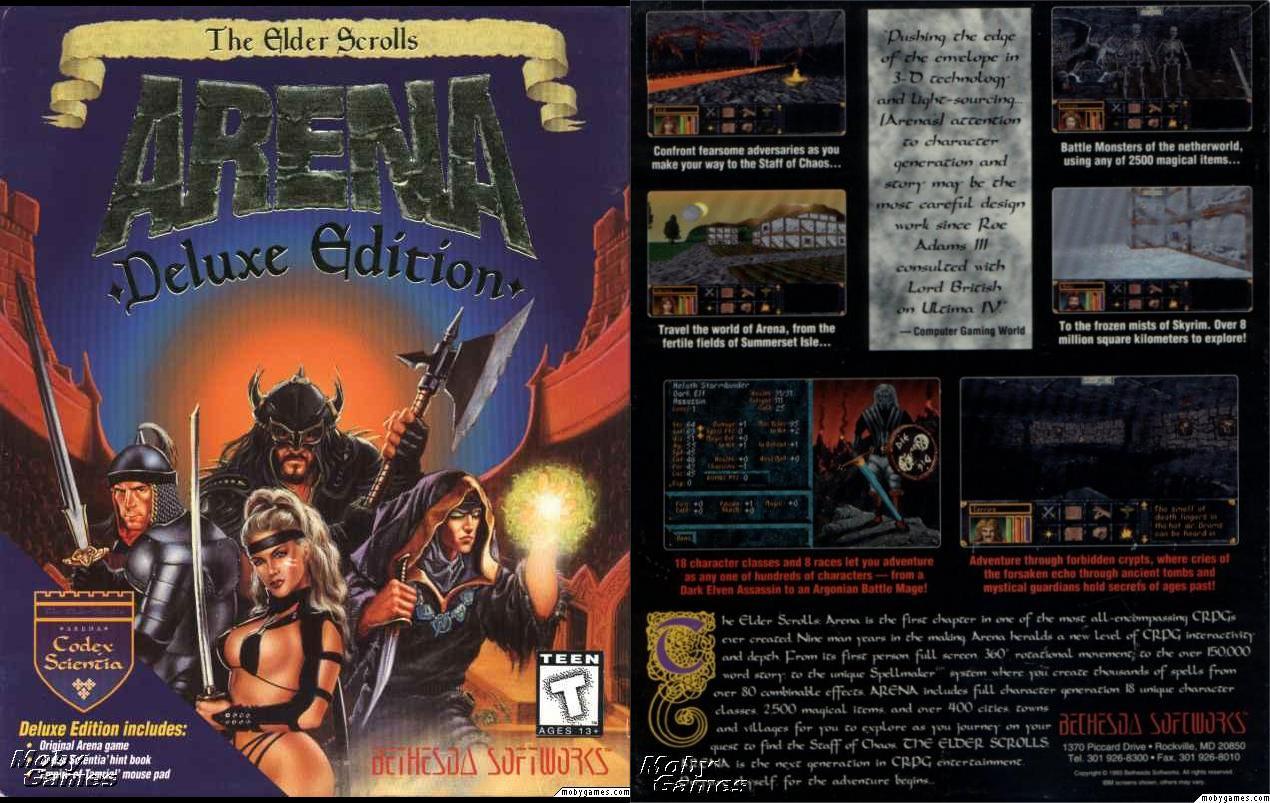 The Elder Scrolls Vita : The elder scrolls arena y daggerfall otra partida